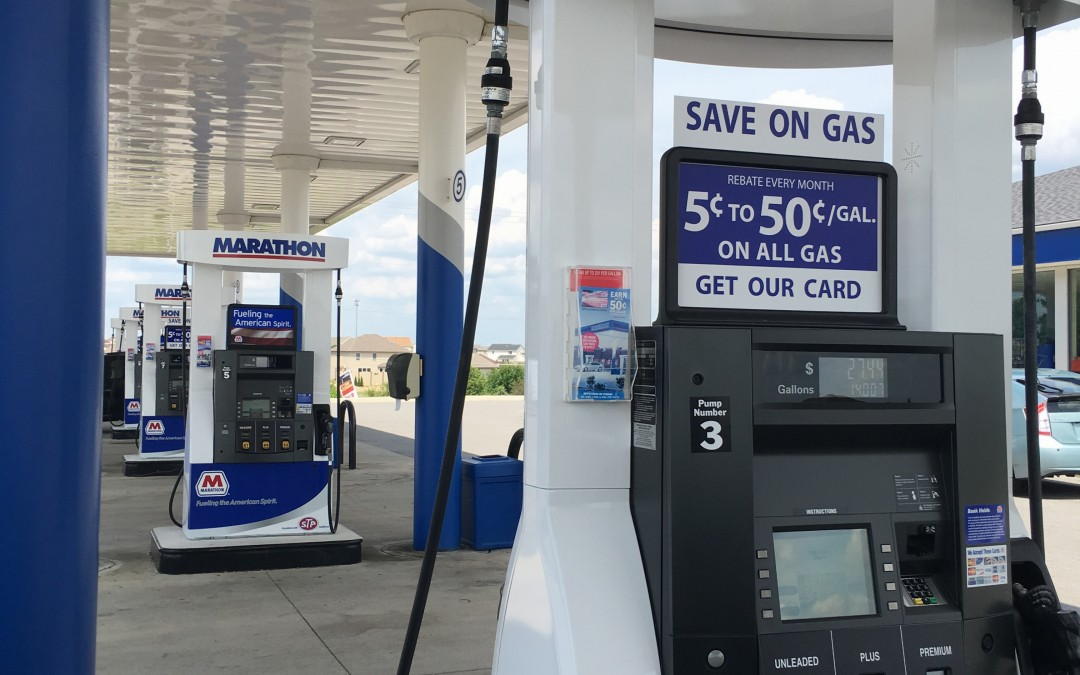 Save on your next fill-up at Marathon!