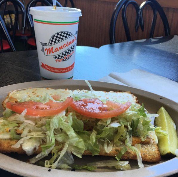 You're going to want to try a Grinder at Mancino's!