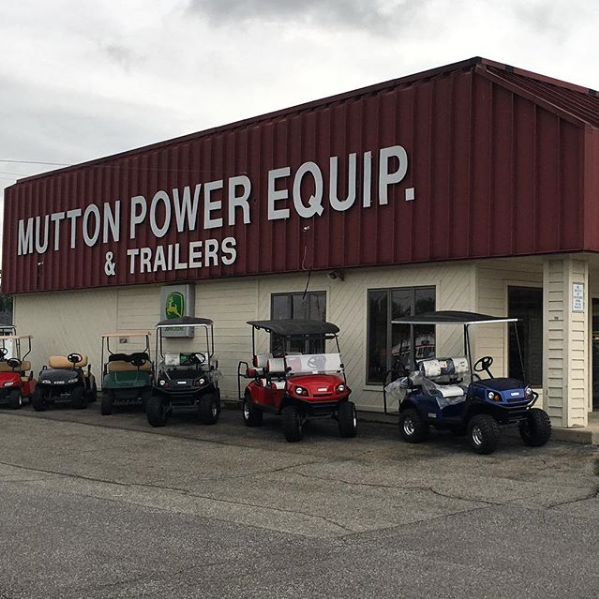 Looking for gas powered golf carts?